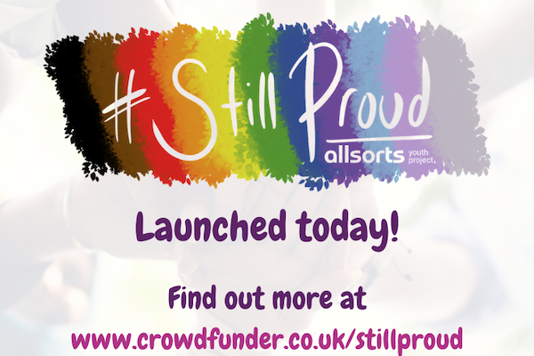 Allsorts launches #StillProud fundraising campaign