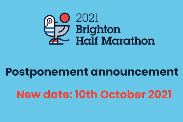 Brighton Half Marathon postponed till October