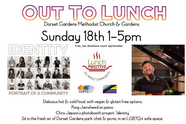 Out to Lunch– Today – 1-5pm
