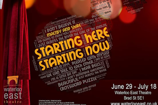 REVIEW: Starting Here, Starting Now @ Waterloo East Theatre