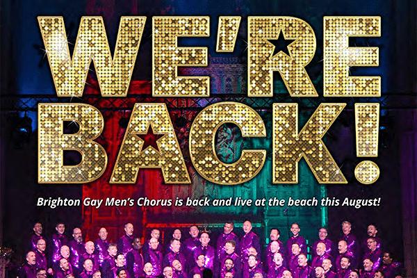 Brighton Gay Men's Chorus to return!