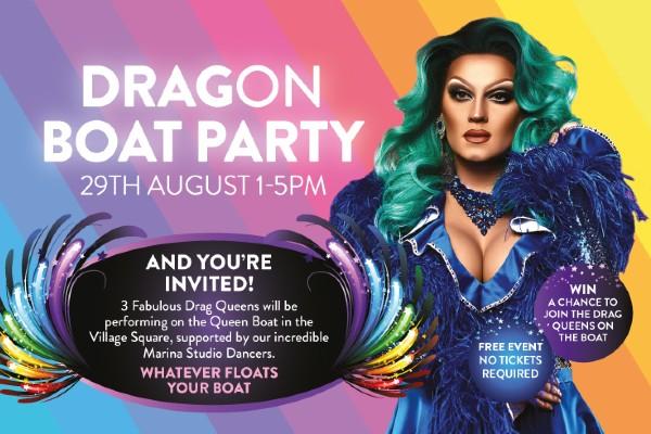 Bank Holiday Sunday: Brighton Marina Drag'on Boat Party