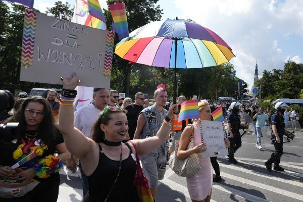 Poland holds two Pride marches