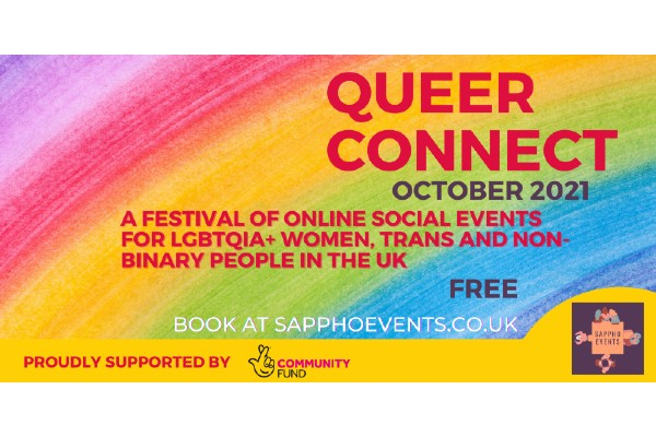 Queer Connect online festival to help loneliness in LGBTQ+ people