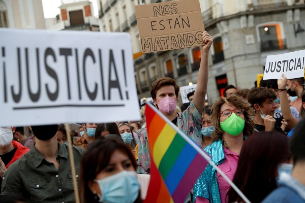 Madrid holds protest after wave of hate crimes