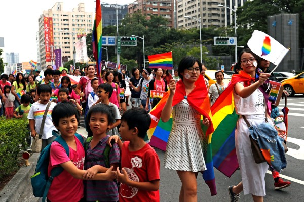 """Taiwan sees """"landmark"""" ruling for trans rights"""