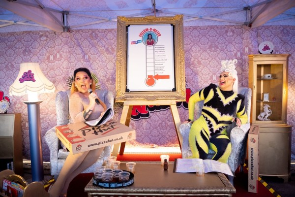 First Look: The Vivienne and Cheryl Hole kick-off the 'I Like to Watch' tour