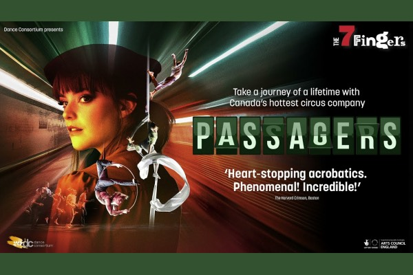 REVIEW: Passagers by The 7 Fingers @ Brighton Dome